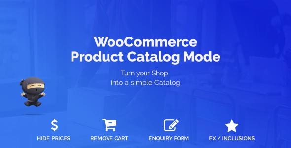 WooCommerce Product Catalog Mode v1.5.12