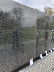 """""""The Wall"""", Vietnam War Memorial"""