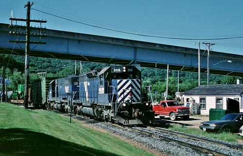 IMRL 206 in Marquette, Iowa on July 5, 2001.