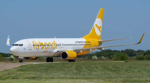 BOEING 737-800 (LV-HKS) FLYBONDI | BUENOS AIRES- EL PALOMAR