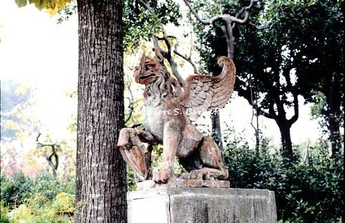 Manoppello (PE), 1994, Abbazia di Santa Maria Arabona.