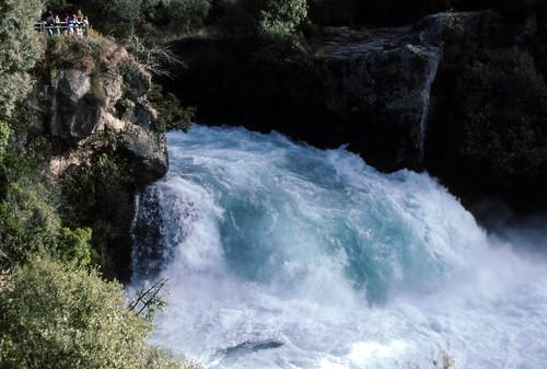 Huka Falls, Waikato River, Taupo, July 6, 1992