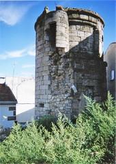 Torre redonda del castillo de Eljas / As Ellas 1