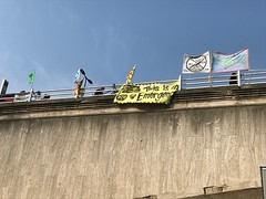 Extinction Rebellion banner