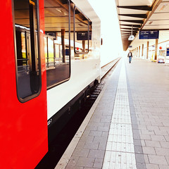 """""""Wir begrüssen Sie im Zug nach Laufen"""""""