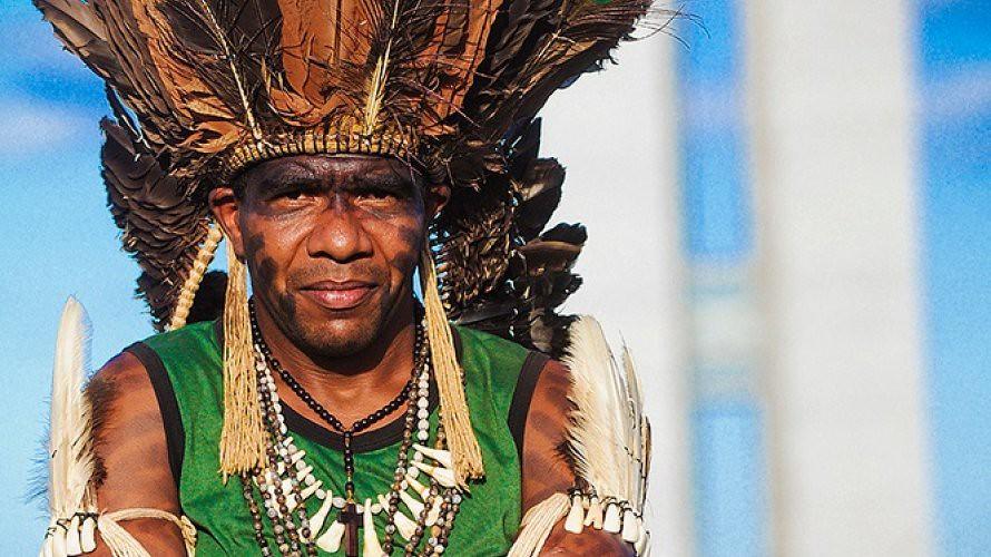 Cacique Babau é uma das lideranças indígenas com atuação na Bahia. Foto_Divulgação.jpg