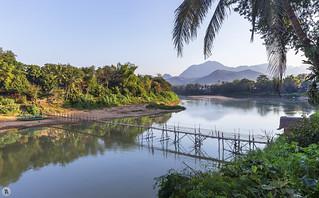 Mekong River at Luang Prabang, Laos