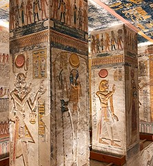 Egyptian Tomb Carvings, Luxor
