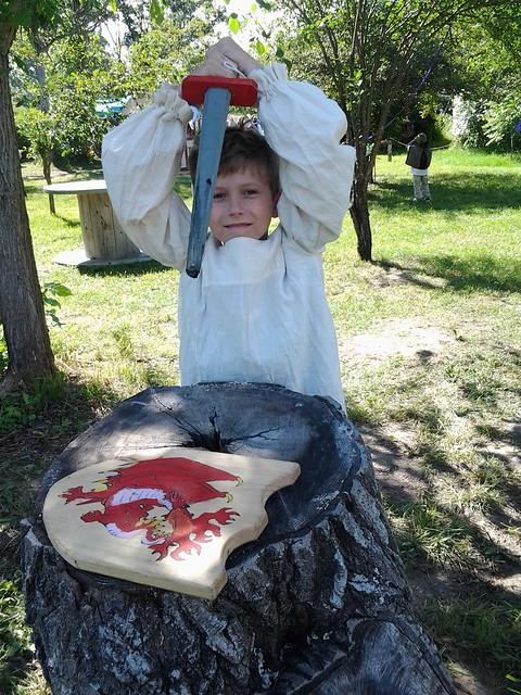 Evan the Dragon Slayer!