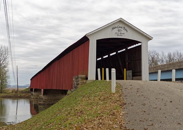 Medora Covered Bridge exterior