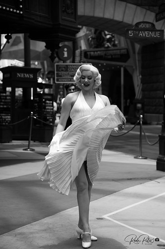Marilyn Monroe Act - Universal Studios