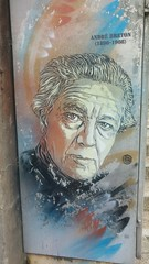 André Breton, 1896-1966, by C215