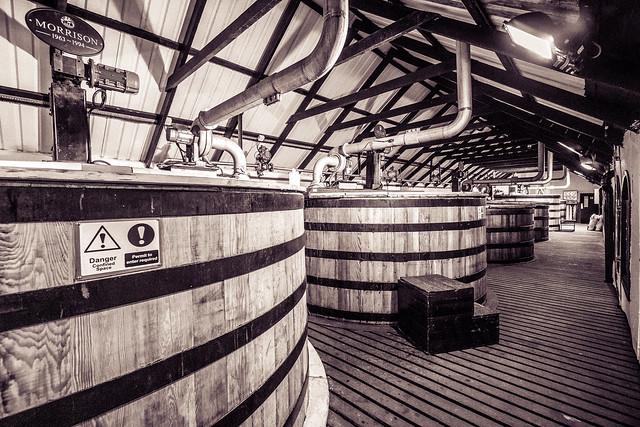 Washbacks Bowmore Distillery