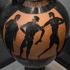 Athletes XLII: Panathenaic Amphora by Kleophrades P.