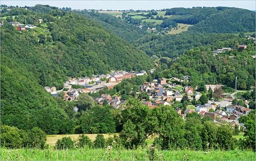Nessonvaux (Olne), Vallée de la Vesdre, Province de Liège, Belgium