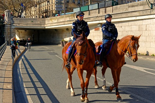 Paris / The mounted police