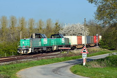 BB 60084 & BB 60127 - Chateau - Gontier ( 53 )