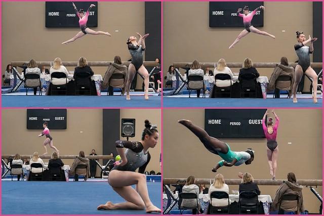 Gymnastics Juxtaposition