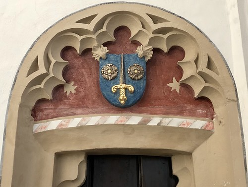 Zaltbommel The Netherlands, St Martin's Church - Doorway with Coat of Arms