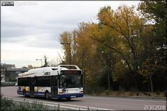 Heuliez Bus GX 317 GNV - Tisséo n°0201 - Photo of Péchabou