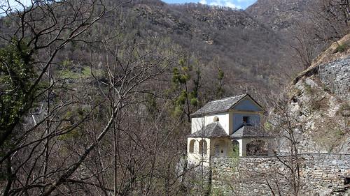 Kleine Kapelle zwischen Loco und Auressio