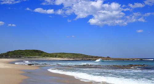 Ghosties Beach.
