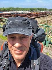 Güterbahnhof von Tergnier, Frankreich