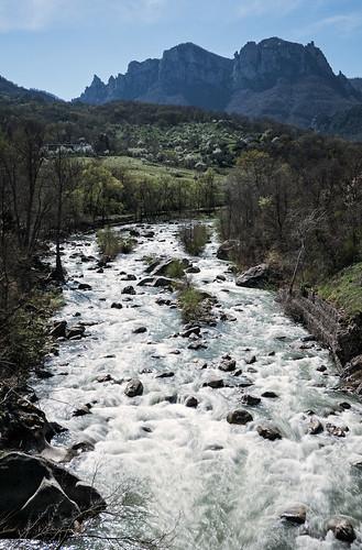 il fiume basento presso campomaggiore