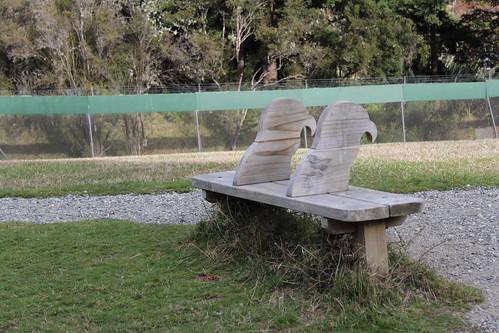 Kea Sculptures at Te Anau Bird Sanctuary
