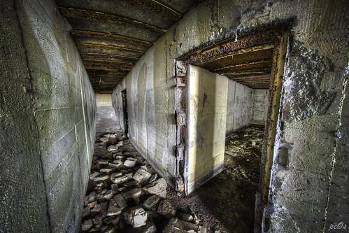 Hallway huge WW2 bunker