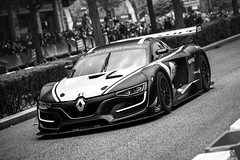 Black & White, Racing Car - Valence