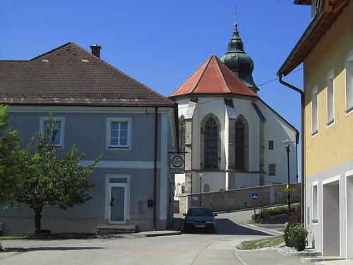 20110826 10 220 Jakobus Kollmitzberg Kirche Turm Haus