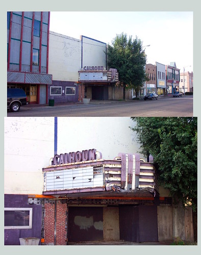 Anniston  Alabama  ~ Calhoun Theatre ~  Taken in 2003  ~ Gone