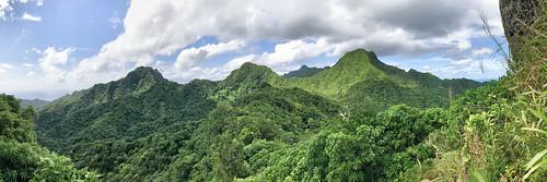 Rarotonga panorama