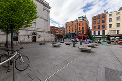 BARNARDO SQUARE ON DAME STREET [ FEATURING ONE OF THE LEAST POPULAR BUILDINGS IN DUBLIN]-152068