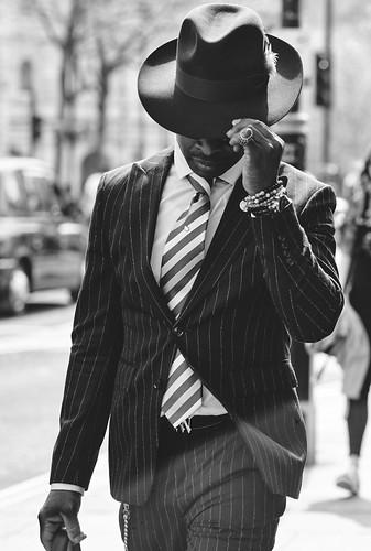 London Street Portrait