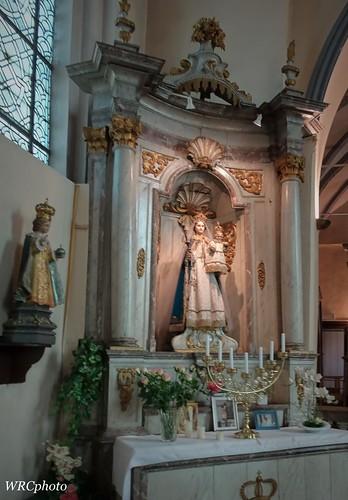 Notre Dame et L'enfant Jésus de Prague.