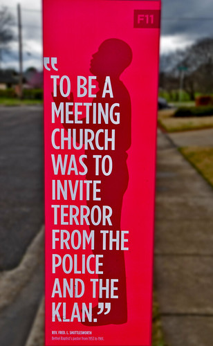 '...Invite Terror From the Police and the Klan' -- Rev. Fred L. Shuttlesworth Bethel Baptist Church North Birmingham (AL) February 2019