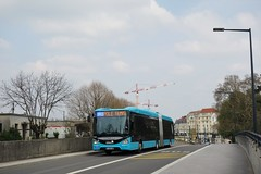 Iveco Bus Urbanway 18 BHNS n°511  -  Besançon, GINKO