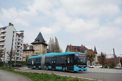 Iveco Bus Urbanway 18 BHNS n°513  -  Besançon, GINKO