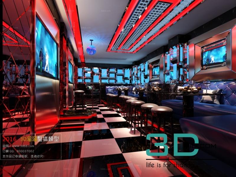 38  Model Karaoke Club 3dsmax File Free Download - 3D Mili