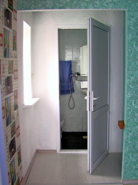 Душевая и туалет на 2 этаже