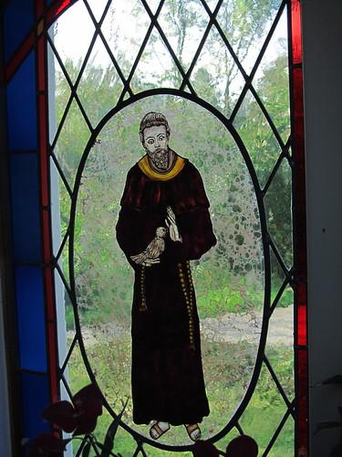 20110831 15 072 Jakobus Kapelle Fenster Franziskus