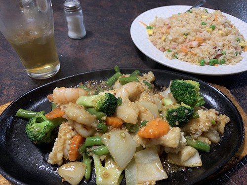 Sizzling Seafood Combination