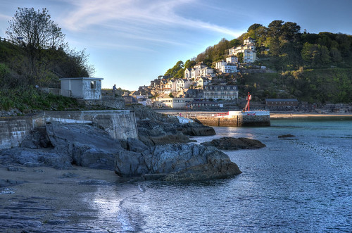 Late afternoon at Looe, Cornwall