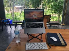 Coworking at Over The Moon Cafe