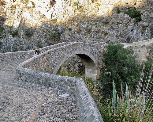 Ponte del Diavolo sul Raganello.