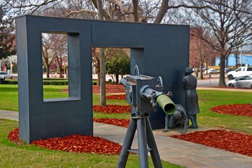 Bull Connor's Water Cannons -- Statue in Kelly Ingram Park Birmingham (AL) February 2019