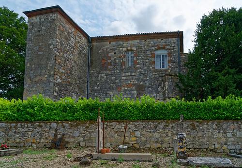 Château de Clermont-Soubiran - Lot et Garonne