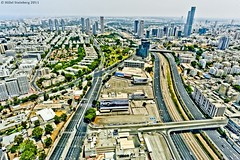 Tel-Aviv View Over the Ayalon